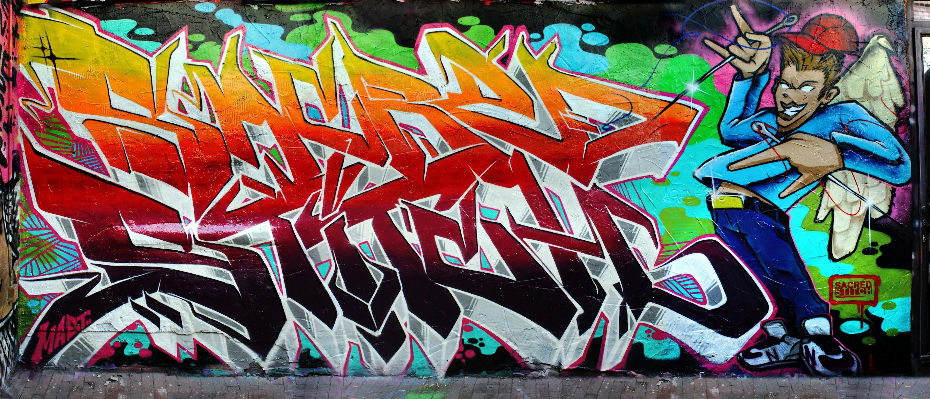 Favori Awesome Graffiti! [Archive] - MangaHaven MY63