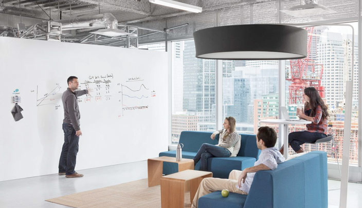 Bring Your Productivity To The Next Level. Now You Can Turn Any Wall Into  Your Home Or Office Into A Fully Erasable Whiteboard! With The Installation  Of ...